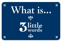 What Is 3 Little Words